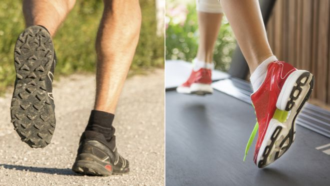 Is it better to run outside or on a treadmill?