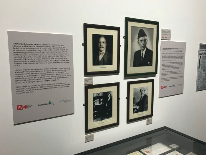 Quaid-e-Azam's memorabilia put on display at LSE exhibition