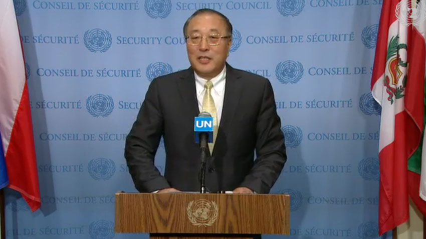 China expresses grave concern over human rights violation in IOK, calls for peaceful solution according to UN charter