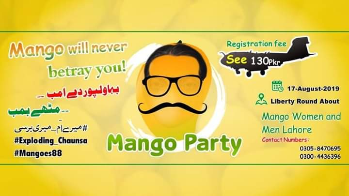 A Mango party in Lahore: What was it about?