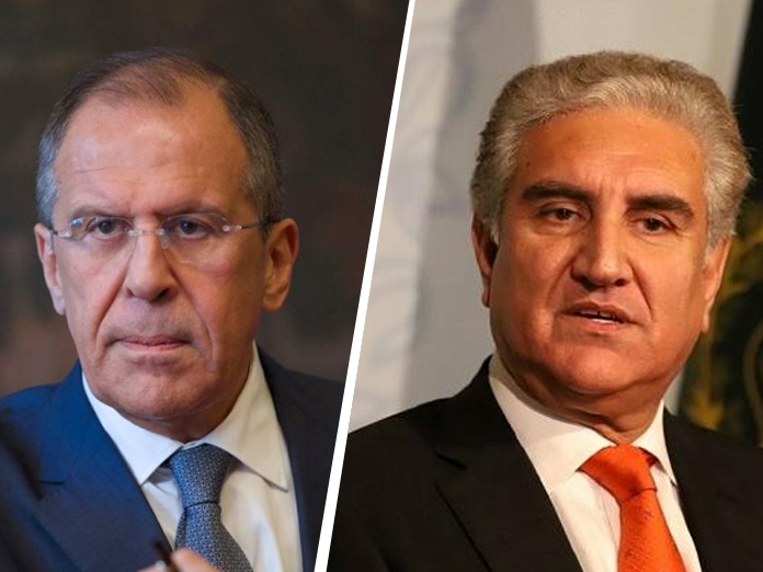 Foreign Minister Shah Mahmood Qureshi discusses Kashmir issue with his Russian counterpart