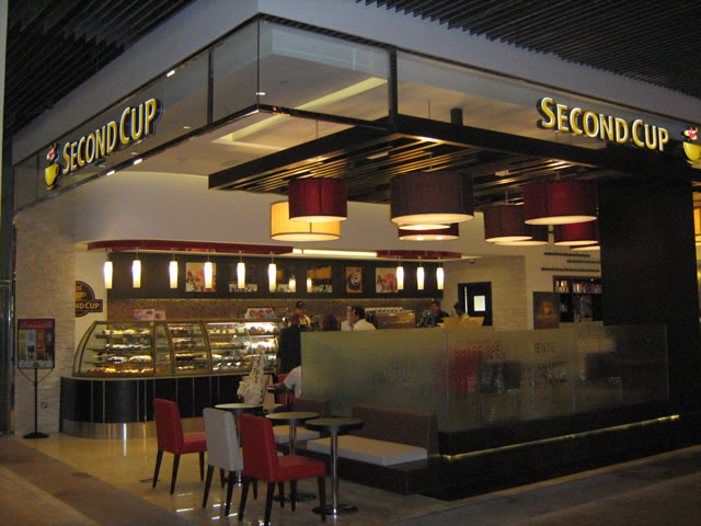 SECOND CUP COFFEE COMPANY OPENS ITS FIRST CAFÉ IN KARACHI