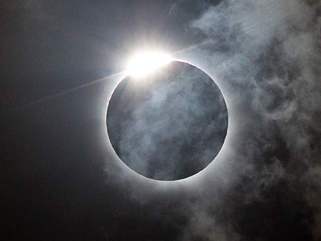 Public advised to stay indoors, avoid looking at the solar eclipse