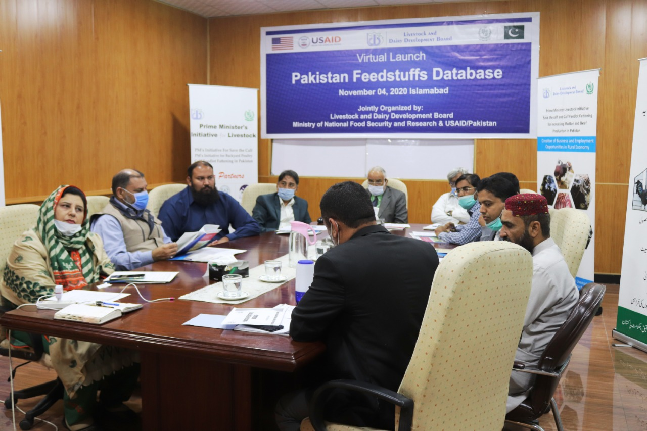 Livestock and Dairy Development Board Launches Pakistan Feedstuffs Database in collaboration with USAID and UVAS