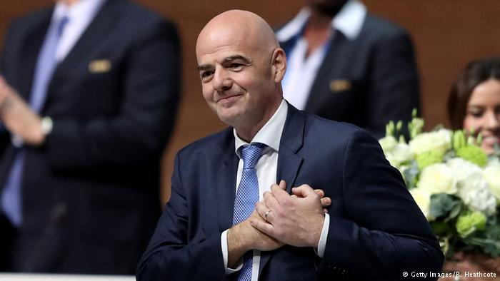 FIFA elects Gianni Infantino as its new president