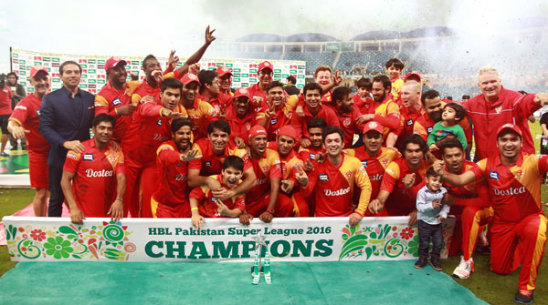 Islamabad United become first PSL champions