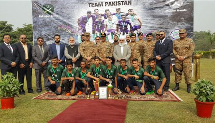 Youth footballers from Pakistan qualify for Street Children World Cup