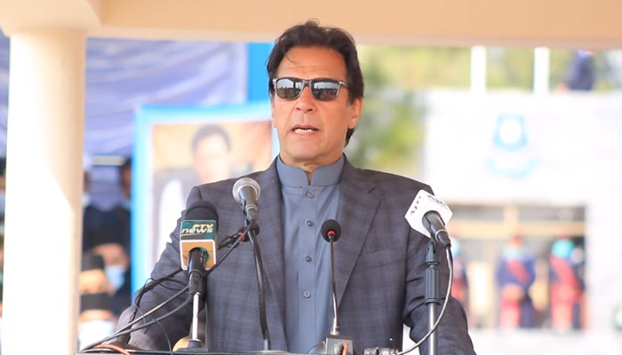 Opposition's criticism similar to Indian propaganda says PM Imran in Chakwal