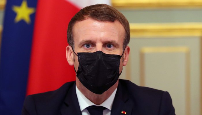 French President Emmanuel Macron tests positive for Covid-19, to self-isolate for a week
