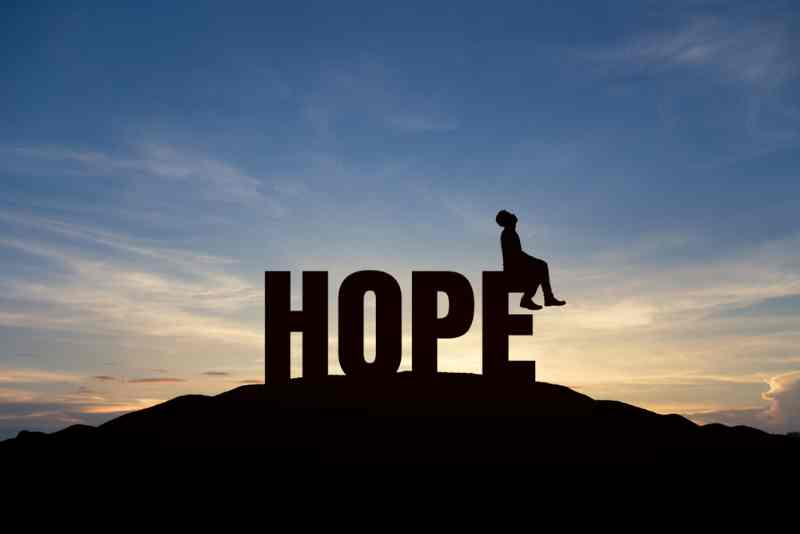 LET YOUR HOPE SHAPE YOUR FUTURE