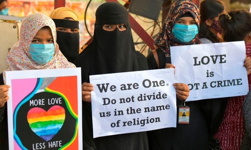Second Indian state to pass a law outlawing religious conversion by marriage