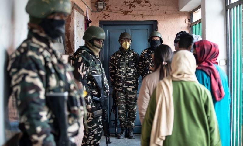 India detains 75 in occupied Kashmir after local election