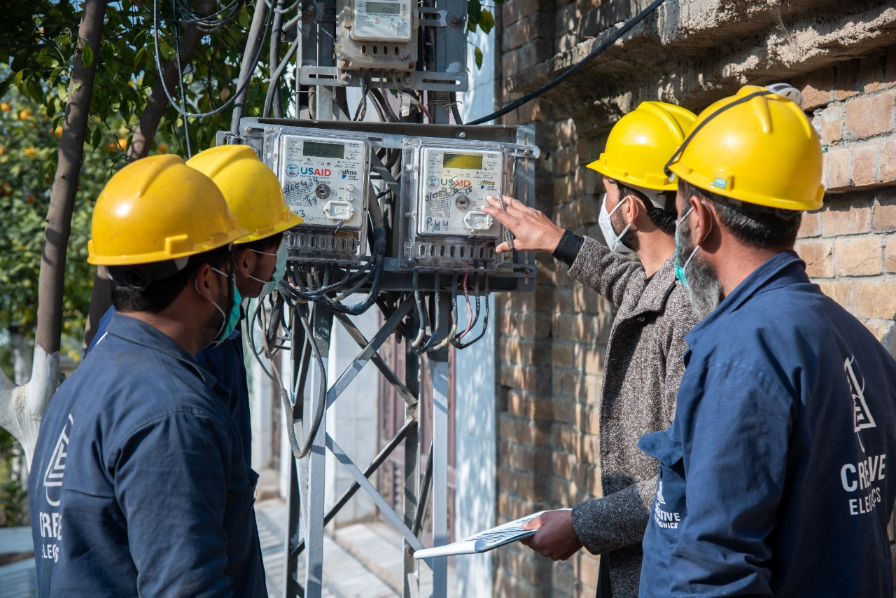 U.S. GOVERNMENT PROJECT INCREASES ENERGY SUPPLY IN PAKISTAN